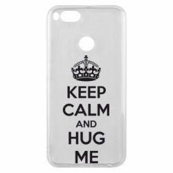 Чохол для Xiaomi Mi A1 KEEP CALM and HUG ME