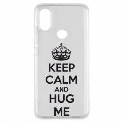 Чохол для Xiaomi Mi A2 KEEP CALM and HUG ME