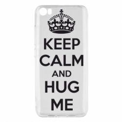 Чохол для Xiaomi Mi5/Mi5 Pro KEEP CALM and HUG ME