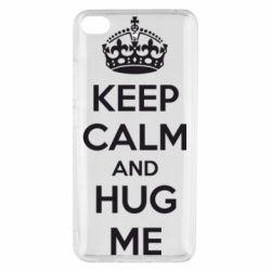 Чохол для Xiaomi Mi 5s KEEP CALM and HUG ME