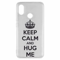 Чехол для Xiaomi Mi8 KEEP CALM and HUG ME - FatLine