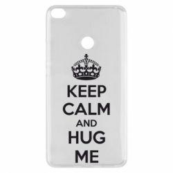 Чехол для Xiaomi Mi Max 2 KEEP CALM and HUG ME - FatLine