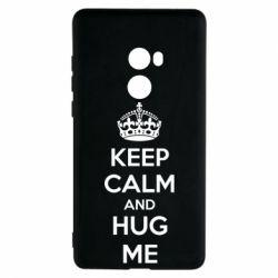 Чехол для Xiaomi Mi Mix 2 KEEP CALM and HUG ME - FatLine