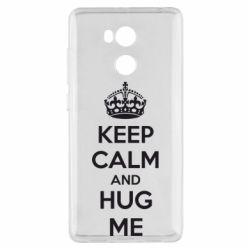 Чехол для Xiaomi Redmi 4 Pro/Prime KEEP CALM and HUG ME - FatLine