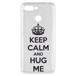 Чехол для Xiaomi Redmi 6 KEEP CALM and HUG ME - FatLine