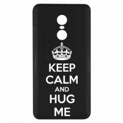 Чехол для Xiaomi Redmi Note 4x KEEP CALM and HUG ME - FatLine