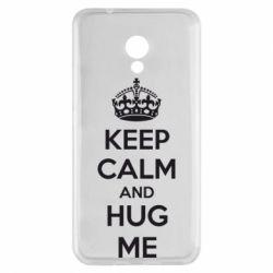 Чехол для Meizu M5s KEEP CALM and HUG ME - FatLine