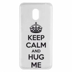 Чехол для Meizu M6 KEEP CALM and HUG ME - FatLine