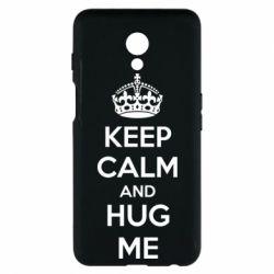 Чехол для Meizu M6s KEEP CALM and HUG ME - FatLine