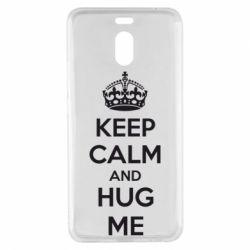 Чехол для Meizu M6 Note KEEP CALM and HUG ME - FatLine