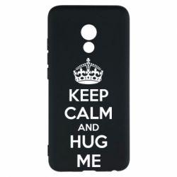 Чехол для Meizu Pro 6 KEEP CALM and HUG ME - FatLine