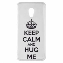Чехол для Meizu Pro 6 Plus KEEP CALM and HUG ME - FatLine