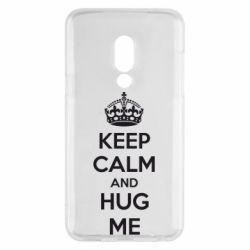 Чехол для Meizu 15 KEEP CALM and HUG ME - FatLine