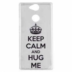 Чехол для Sony Xperia XA2 KEEP CALM and HUG ME - FatLine