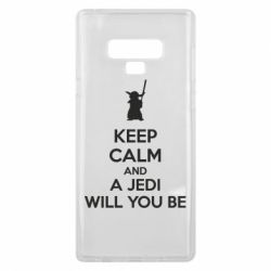 Чехол для Samsung Note 9 KEEP CALM and Jedi will you be - FatLine