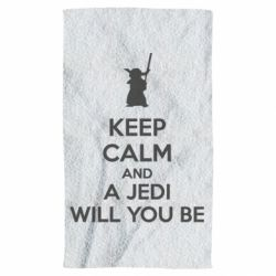 Полотенце KEEP CALM and Jedi will you be - FatLine