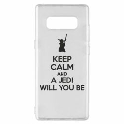 Чехол для Samsung Note 8 KEEP CALM and Jedi will you be - FatLine