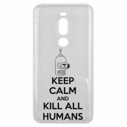 Чехол для Meizu V8 Pro KEEP CALM and KILL ALL HUMANS - FatLine