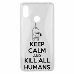 Чехол для Xiaomi Mi Max 3 KEEP CALM and KILL ALL HUMANS - FatLine