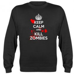 Реглан (свитшот) KEEP CALM and KILL ZOMBIES - FatLine