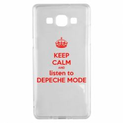 Чохол для Samsung A5 2015 KEEP CALM and LISTEN to DEPECHE MODE