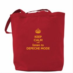 Сумка KEEP CALM and LISTEN to DEPECHE MODE