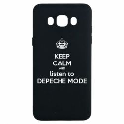 Чохол для Samsung J7 2016 KEEP CALM and LISTEN to DEPECHE MODE