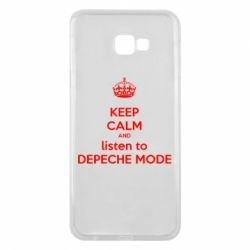 Чехол для Samsung J4 Plus 2018 KEEP CALM and LISTEN to DEPECHE MODE
