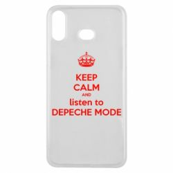 Чехол для Samsung A6s KEEP CALM and LISTEN to DEPECHE MODE
