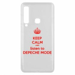 Чехол для Samsung A9 2018 KEEP CALM and LISTEN to DEPECHE MODE