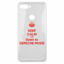 Чехол для Xiaomi Mi8 Lite KEEP CALM and LISTEN to DEPECHE MODE