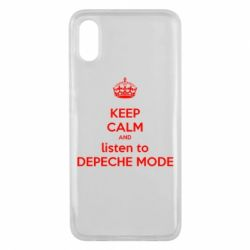 Чехол для Xiaomi Mi8 Pro KEEP CALM and LISTEN to DEPECHE MODE