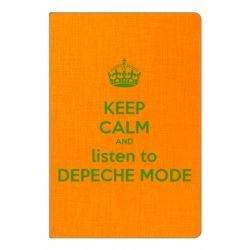 Блокнот А5 KEEP CALM and LISTEN to DEPECHE MODE
