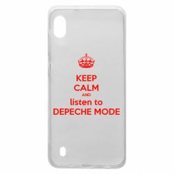 Чохол для Samsung A10 KEEP CALM and LISTEN to DEPECHE MODE