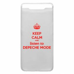 Чохол для Samsung A80 KEEP CALM and LISTEN to DEPECHE MODE