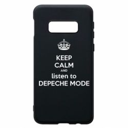 Чехол для Samsung S10e KEEP CALM and LISTEN to DEPECHE MODE