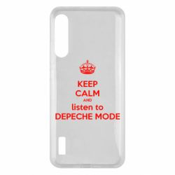 Чохол для Xiaomi Mi A3 KEEP CALM and LISTEN to DEPECHE MODE