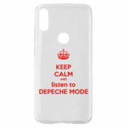 Чехол для Xiaomi Mi Play KEEP CALM and LISTEN to DEPECHE MODE