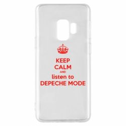 Чехол для Samsung S9 KEEP CALM and LISTEN to DEPECHE MODE
