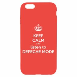 Чохол для iPhone 6/6S KEEP CALM and LISTEN to DEPECHE MODE