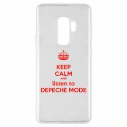Чехол для Samsung S9+ KEEP CALM and LISTEN to DEPECHE MODE