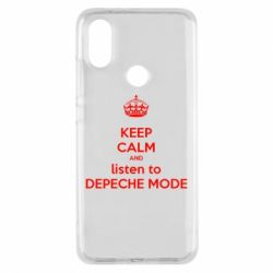 Чехол для Xiaomi Mi A2 KEEP CALM and LISTEN to DEPECHE MODE