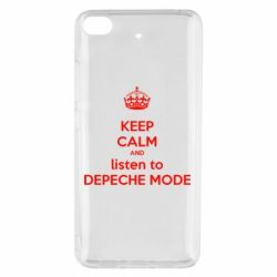 Чехол для Xiaomi Mi 5s KEEP CALM and LISTEN to DEPECHE MODE