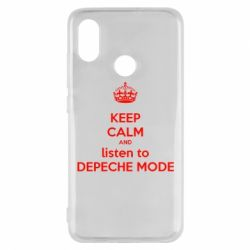 Чехол для Xiaomi Mi8 KEEP CALM and LISTEN to DEPECHE MODE