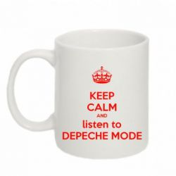 Кружка 320ml KEEP CALM and LISTEN to DEPECHE MODE