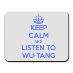 Коврик для мыши KEEP CALM and LISTEN to WU-TANG