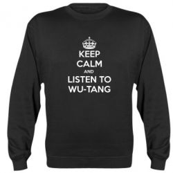 Реглан KEEP CALM and LISTEN to WU-TANG - FatLine