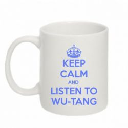 Кружка 320ml KEEP CALM and LISTEN to WU-TANG - FatLine