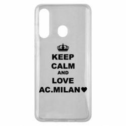 Чохол для Samsung M40 Keep calm and love AC Milan