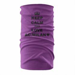 Бандана-труба Keep calm and love AC Milan